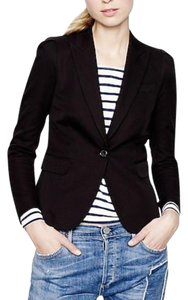 J.Crew Cotton Suiting Classic Wear To Work Black Blazer