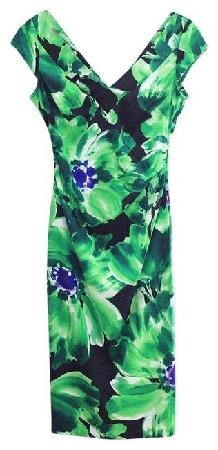 Preload https://img-static.tradesy.com/item/2395735/maggy-london-greens-and-blues-flattering-mid-length-cocktail-dress-size-4-s-0-0-650-650.jpg