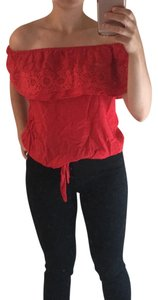 Charming Charlie Top red