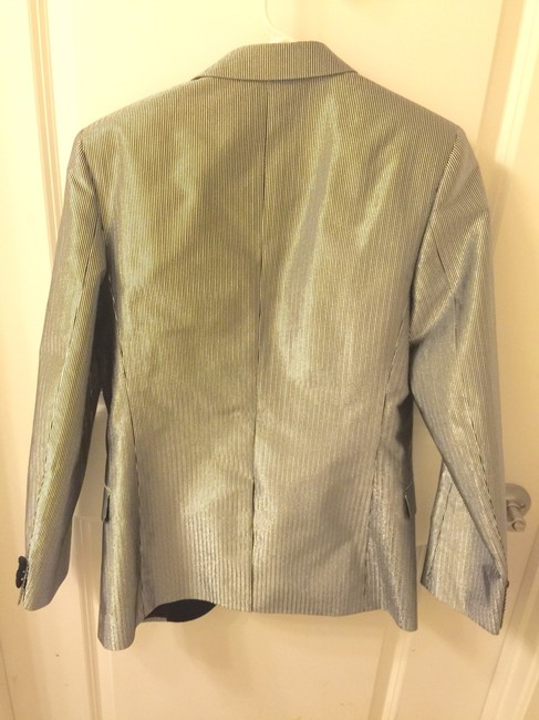 Saint Laurent Silver Blazer