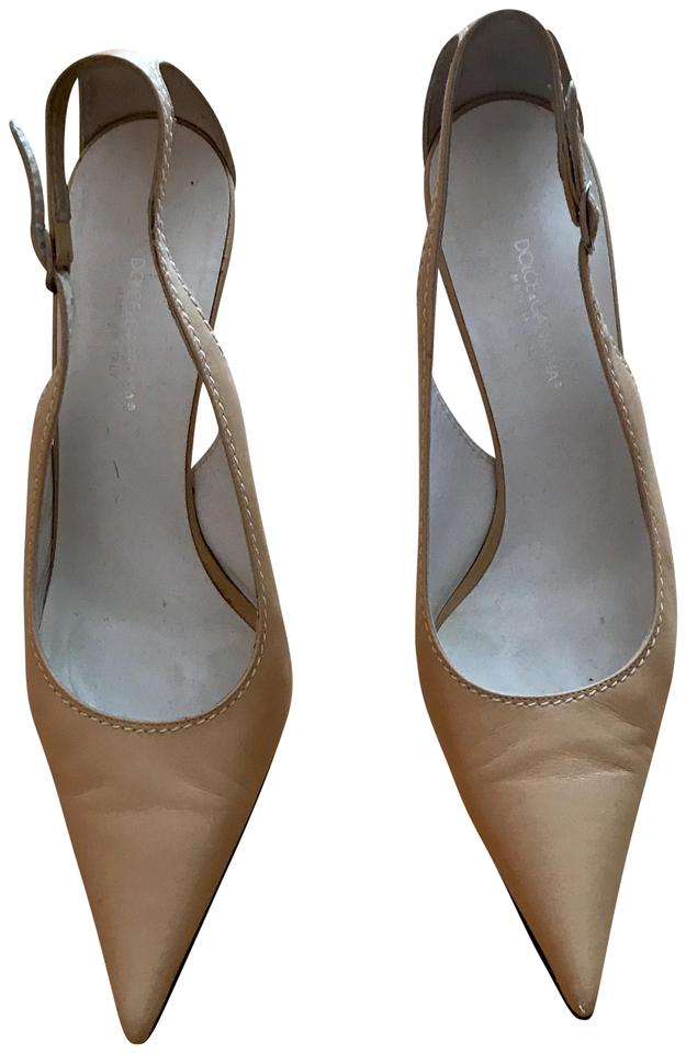 Ladies Dolce&Gabbana Beige/ Nued of Pumps a wide range of Nued products 547093