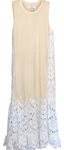 cream and white Maxi Dress by See by Chloé