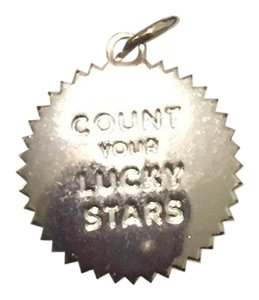 "India Hicks silver ""count your lucky stars"" token"