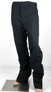 Gucci Blue/Black Men's Blue/Black Cotton Canvas Dress Pant 52r/Us 36 398030 4015 Groomsman Gift