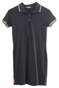 Prada short dress Navy blue Polo Polo on Tradesy