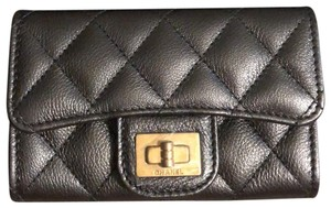 Chanel Chanel Boy Card holder Compact Wallet