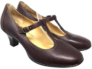 Softspots Us9 Mary Jane S073018-06 brown Pumps