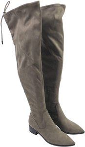 Marc Fisher Fabric Tan Boots