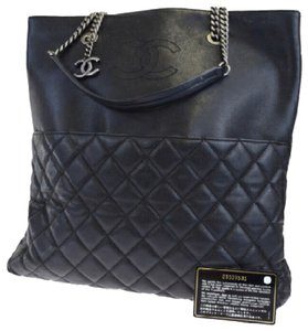 a88bf8221c97 Chanel Ultimate Stitch Aged Chain Quilted Calfskin Large Black ...