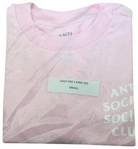 Anti Social Social Club T Shirt Pink