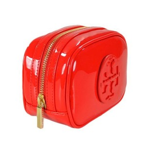 Tory Burch Small Patent Case Cosmetic Bag