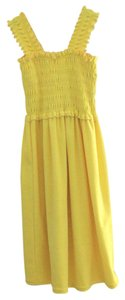 Other Sunshine Yellow toweling dress