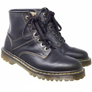 Dr. Martens Ankle Us10 Leather S073018-01 black Boots