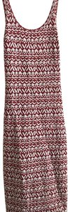 Billabong short dress rust orange and white pattern on Tradesy