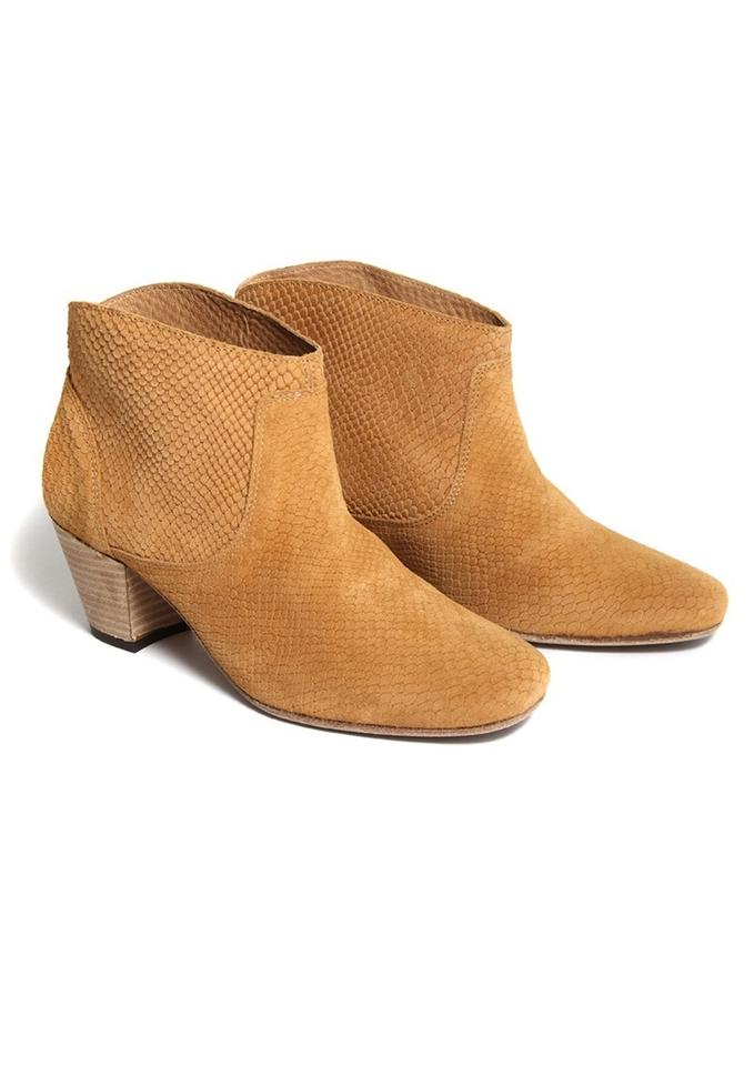 H by Hudson Tan Tan Hudson Suede Boots/Booties ad7a55