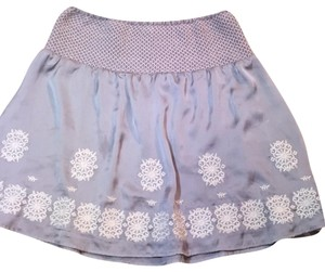 Theme Mini Skirt gray and white