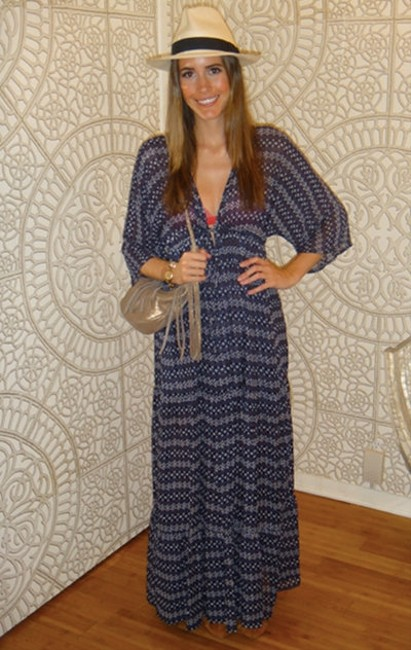 blue Maxi Dress by Blu Moon