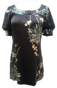 Trina Turk 100% Silk Floral Career Dress