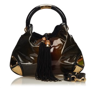 213a8515d66 Added to Shopping Bag. Gucci 8hguho009 Hobo Bag. Gucci Indy Large Babouska  Brown Leather ...