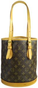 Louis Vuitton Lv Bucket Canvas Satchel in monogram