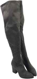 Marc Fisher Fabric Gray Boots