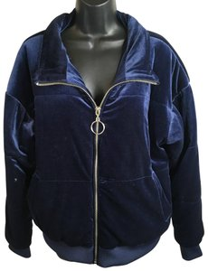 Mossimo Supply Co. Large Winter K-05 Navy Blue Jacket