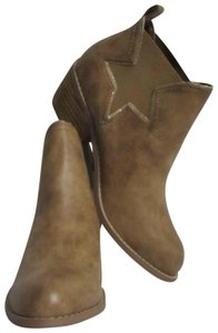Not Rated New Western Style Size 10 Beige Boots