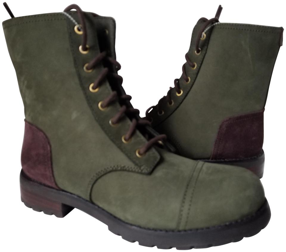 039747904ec UGG Australia Slate/ Green Kilmer 1017485 Slate/ Combat Lace-up  Boots/Booties Size US 7 Regular (M, B) 37% off retail