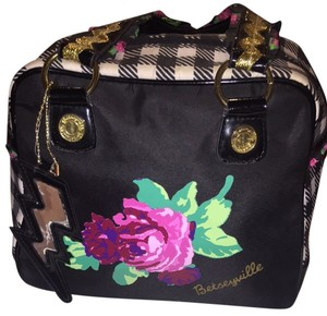 Betsey Johnson Tote in Black Multicolor