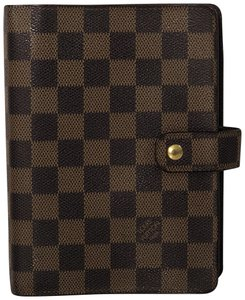 Louis Vuitton Louis Vuitton Damier Ebene Agenda MM Planner