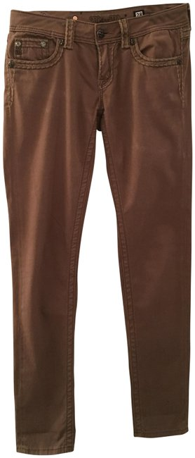 Item - Brown Straight Leg Jeans Size 28 (4, S)