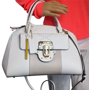 Cromia Satchel in off white