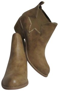 Not Rated New Western Style Size 8 Beige Boots