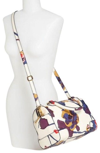 Item - Robinson Floral Bowling Multicolor Coated Canvas Satchel
