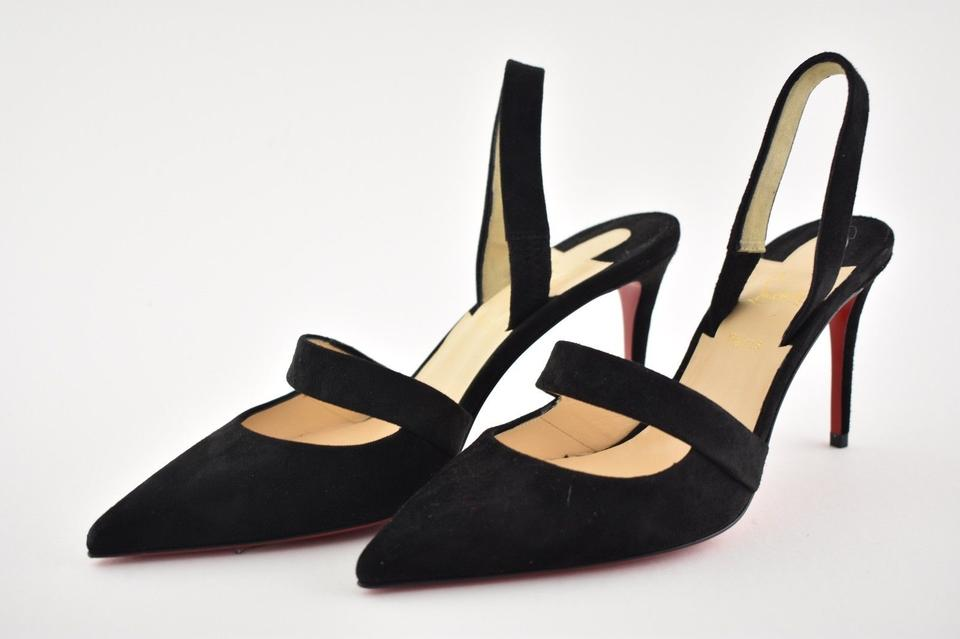 2764a4b920b5 Christian Louboutin Stiletto Pigalle Classic Pointed Toe Actina black Pumps  Image 11. 123456789101112