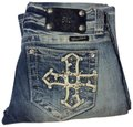 Miss Me Boot Cut Jeans-Distressed Image 0
