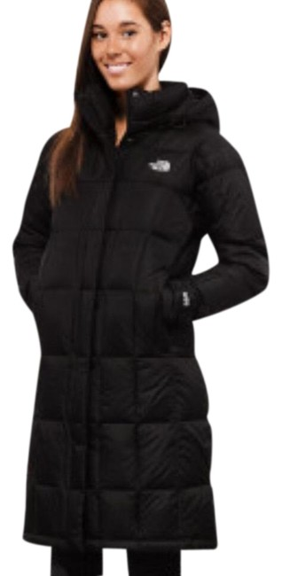 Item - Black Women Metropolis Parka In Small Coat Size 6 (S)