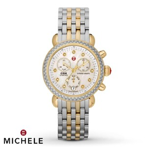 Michele New CSX Mother of Pearl Diamond Dial MWW03M000158