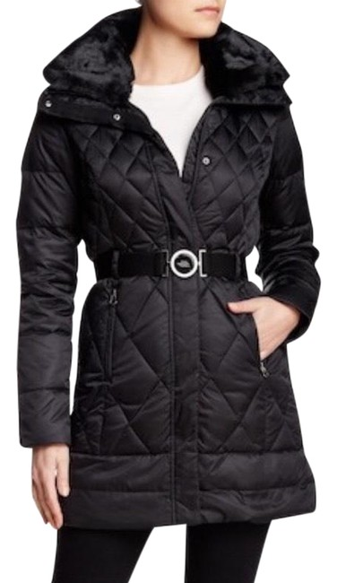 Item - Black Women Apres Parkina Parka 600 Down Pro Water Resistance Large Coat Size 12 (L)