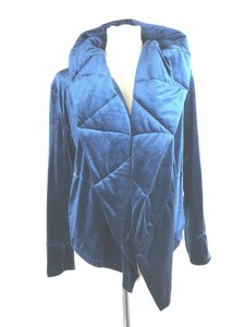 Young Fabulous & Broke Quilted Lightweight Blue Jacket