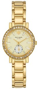 Kate Spade kate spade new york Women's Gramercy Mini Gold-Tone Bracelet Watch 27mm 1YRU0564