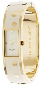 Kate Spade kate spade New York Women's 1YRU0046 'Carousel' Spotted Bangle Watch