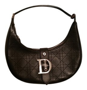 Dior Christian Leather Chanel Shoulder Bag