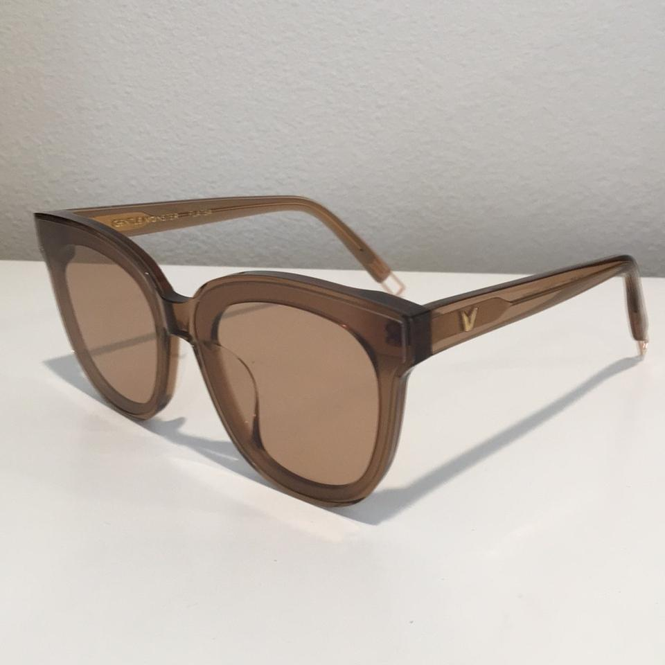 4b24607441 Gentle Monster Clear Brown In Scarlet Bc3 Sunglasses - Tradesy