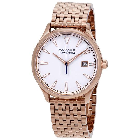 Preload https://item5.tradesy.com/images/movado-white-rose-gold-heritage-calendoplan-date-dial-ladies-watch-23964459-0-0.jpg?width=440&height=440