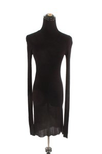 Rick Owens short dress Black Cotton on Tradesy