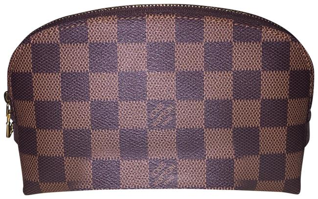 Item - Brown Damier Ebene Pouch Cosmetic Bag