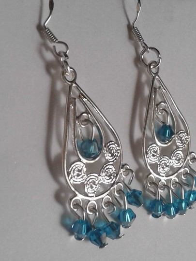 Other Silver plated dangle chandelier earrings