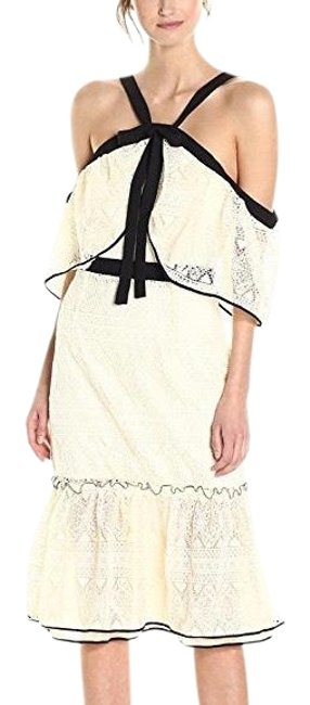 Preload https://item1.tradesy.com/images/adelyn-rae-off-white-marissa-bow-lace-mid-length-cocktail-dress-size-6-s-23964480-0-2.jpg?width=400&height=650