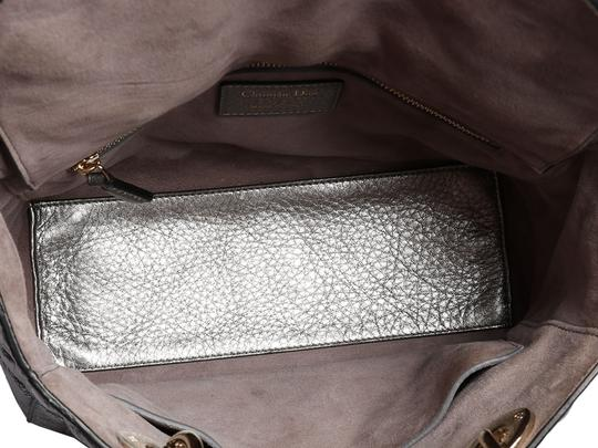 Dior Cannage Quilted Charm Cd.p0802.10 Metallic Cross Body Bag